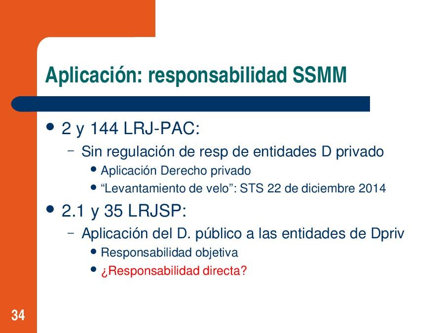 Retos da aplicación da nova lexislación